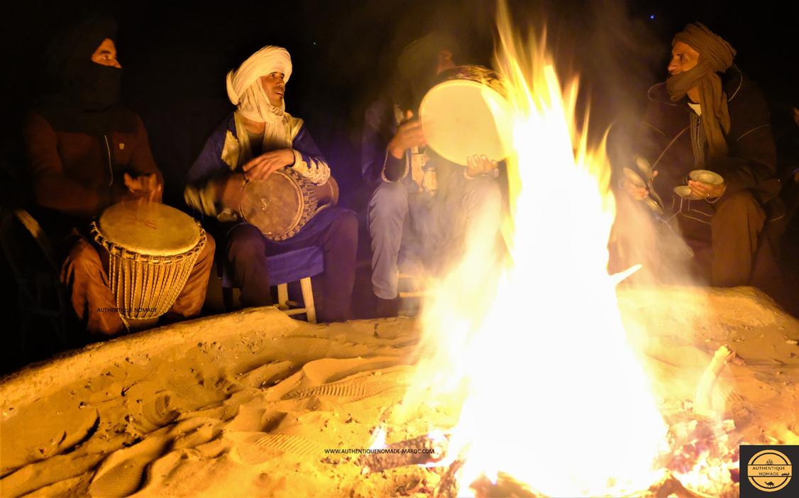 ambiance désert maroc