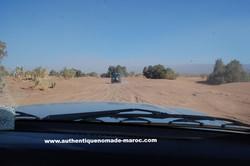 piste désert maroc