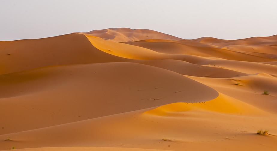 Erg Chebbi in Morocco.