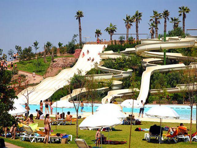 Oasiria piscine Marrakech