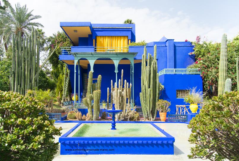 jardin majorelle marrakech