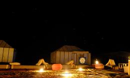 bivouac désert maroc