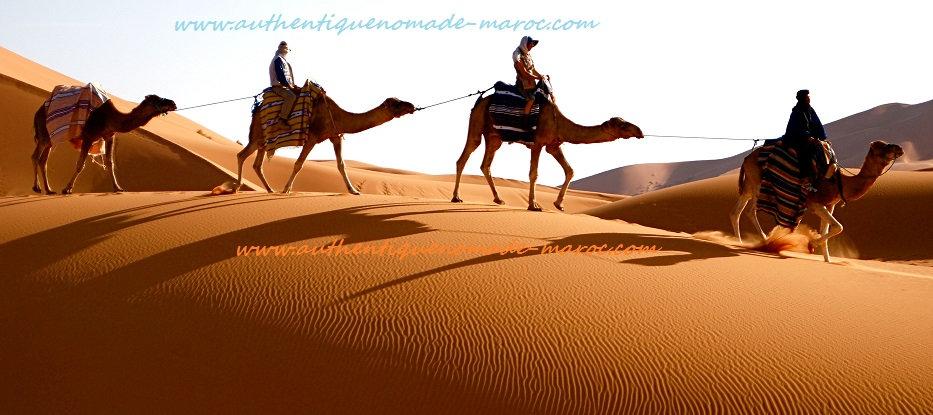 nuit désert maroc, excursion départ Marrakech