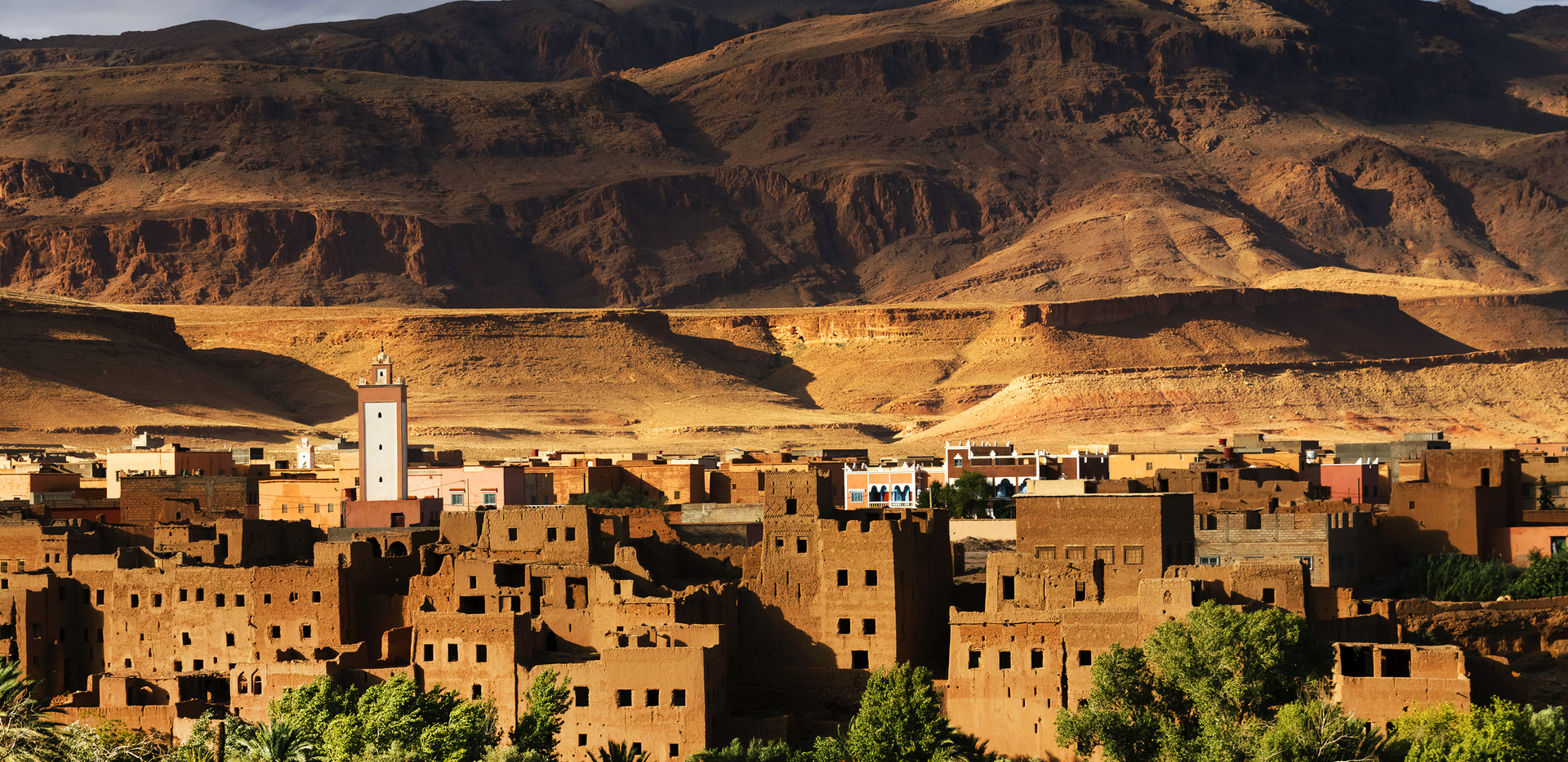 Town and oasis of Tinerhir, Morocco, Afr