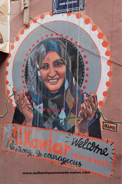 street art à la médina