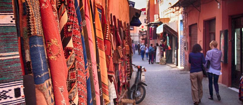 souks médina maroc