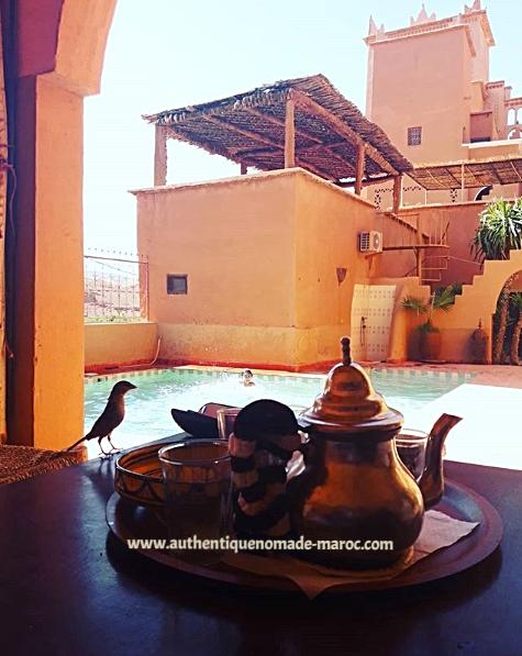 thé maison d'hôtes maroc