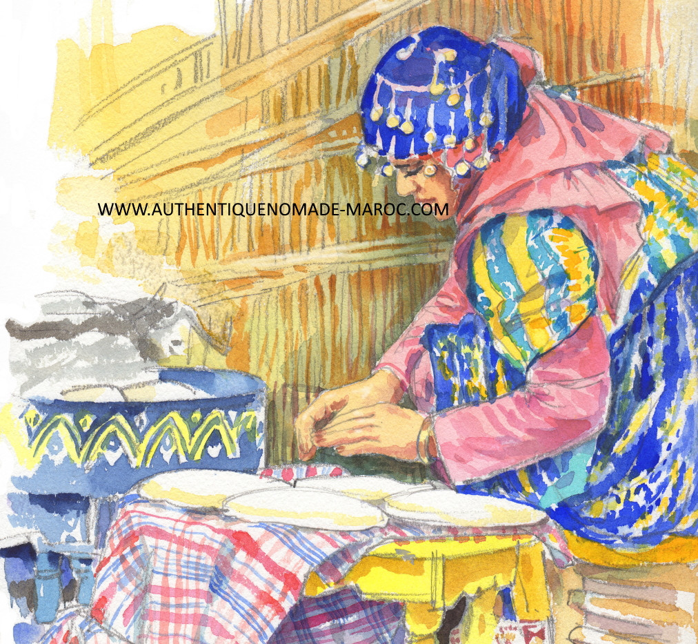 pain berbère maroc