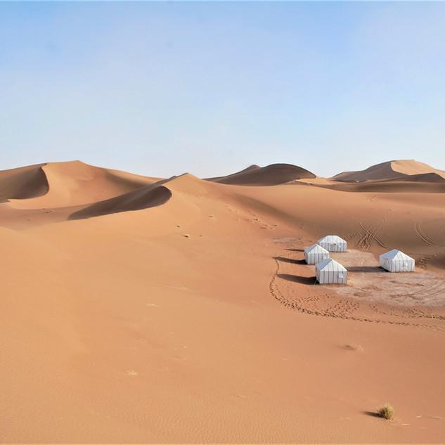 Nuit désert Maroc
