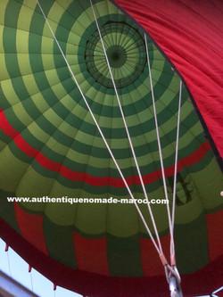 vol en montgolfière