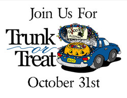 TRUNK OR TREAT-OCTOBER 31