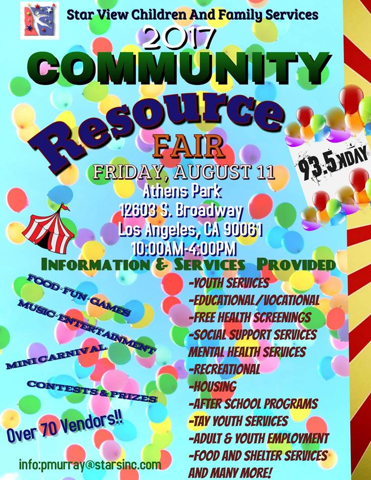 STARVIEW COMMUNITY RESOURCE FAIR
