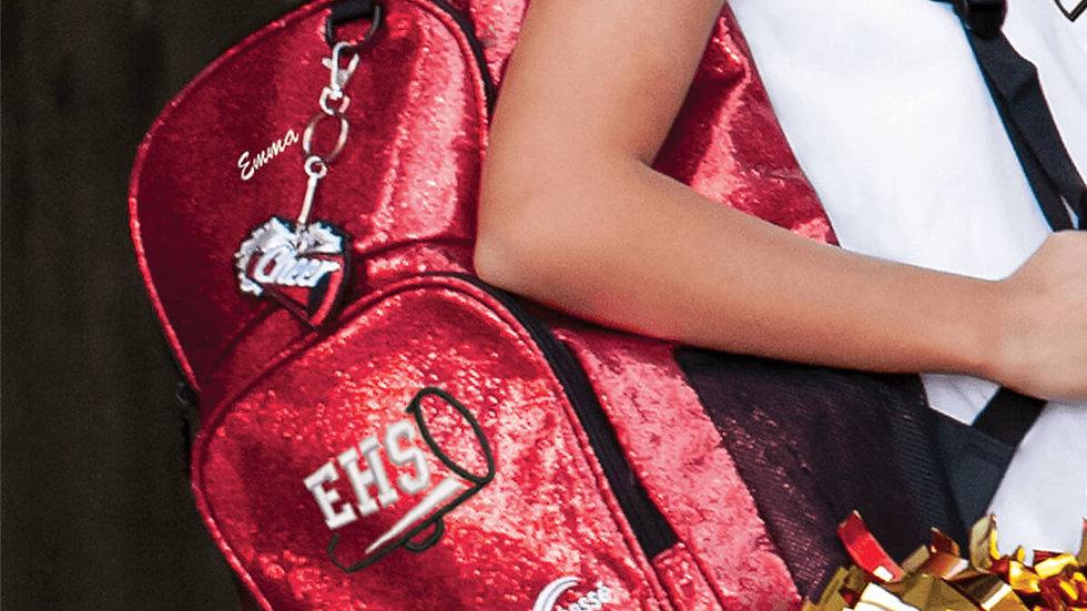 Red Glitter Backpack