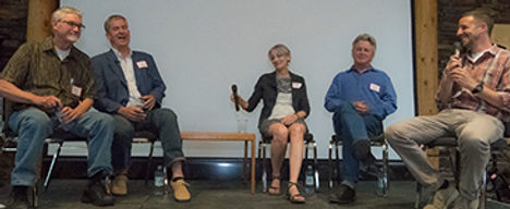 2018 Desert Conversation Panelists Charl