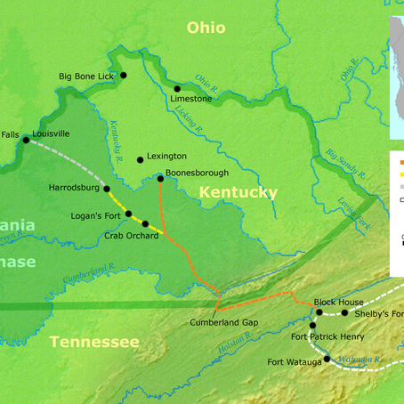 Daniel Boone and the Wilderness Road: Kentucky History