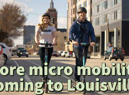 More micro mobility - electric bikes and scooters coming to Louisville: Beargrass Bulletin