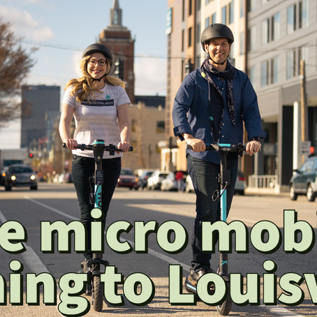 More micro mobility - electric bikes and scooters coming to Louisville