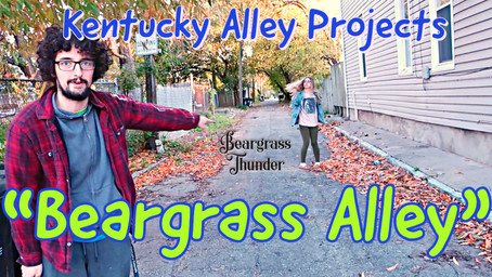 """Beargrass Alley"": Knowing how to improve a space by listening to nature"