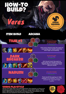 Veres Builds - AoV Guide