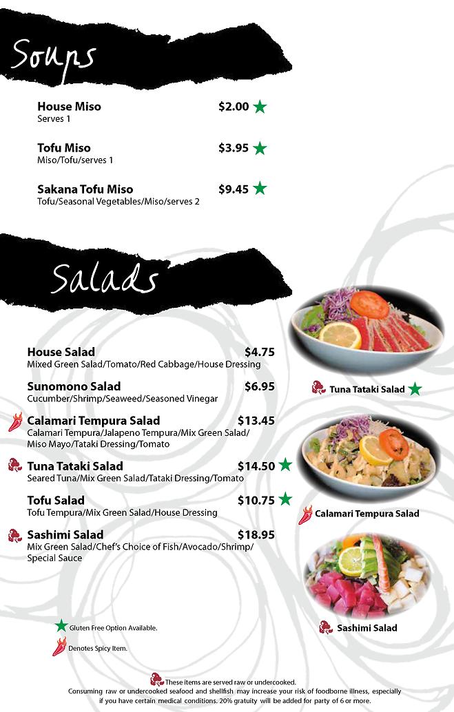 Soups + Salads