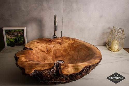 Birch burl Sink