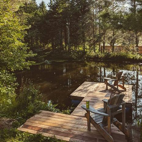 Notre petit étang