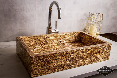Large contemporary hemp sink