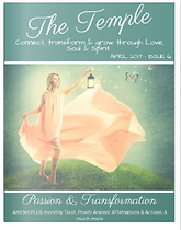 The Temple Magazine Passion and Transfor