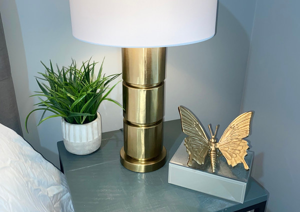 guest bedroom decor and staging
