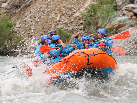 Rafting in Denali | New Wave Adventures