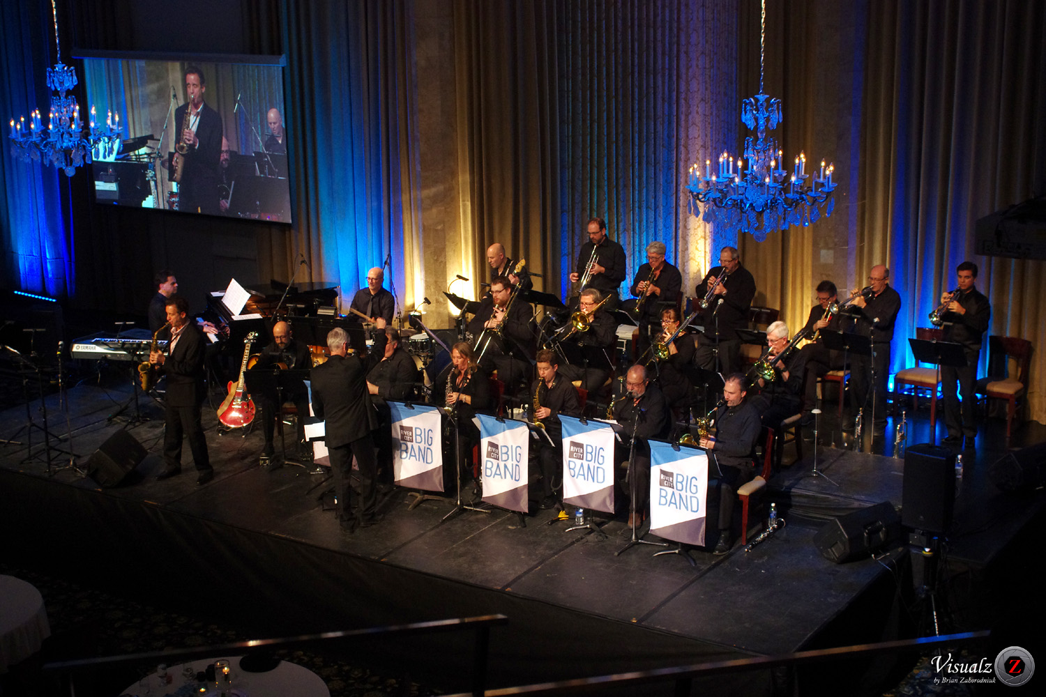 IMGP7310 - River City Big Band with Eric Marienthal