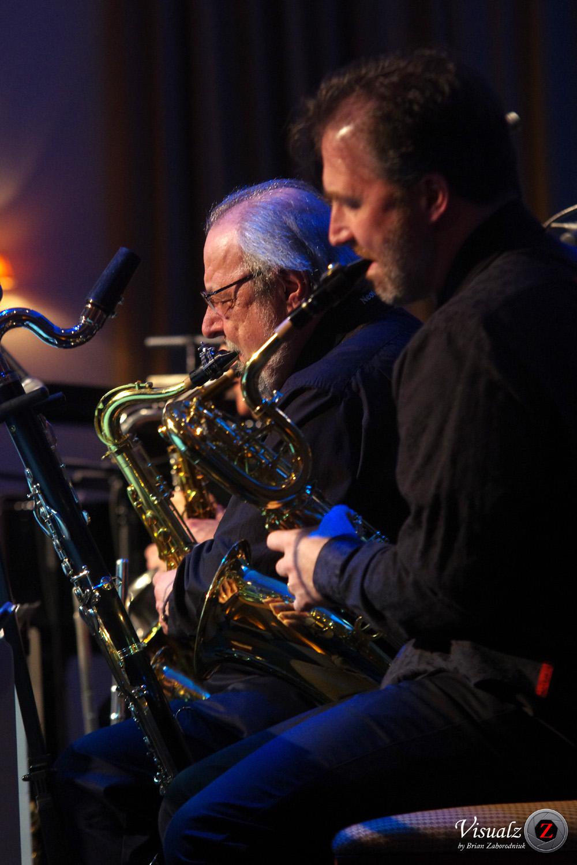 IMGP5923 - River City Big Band - saxes