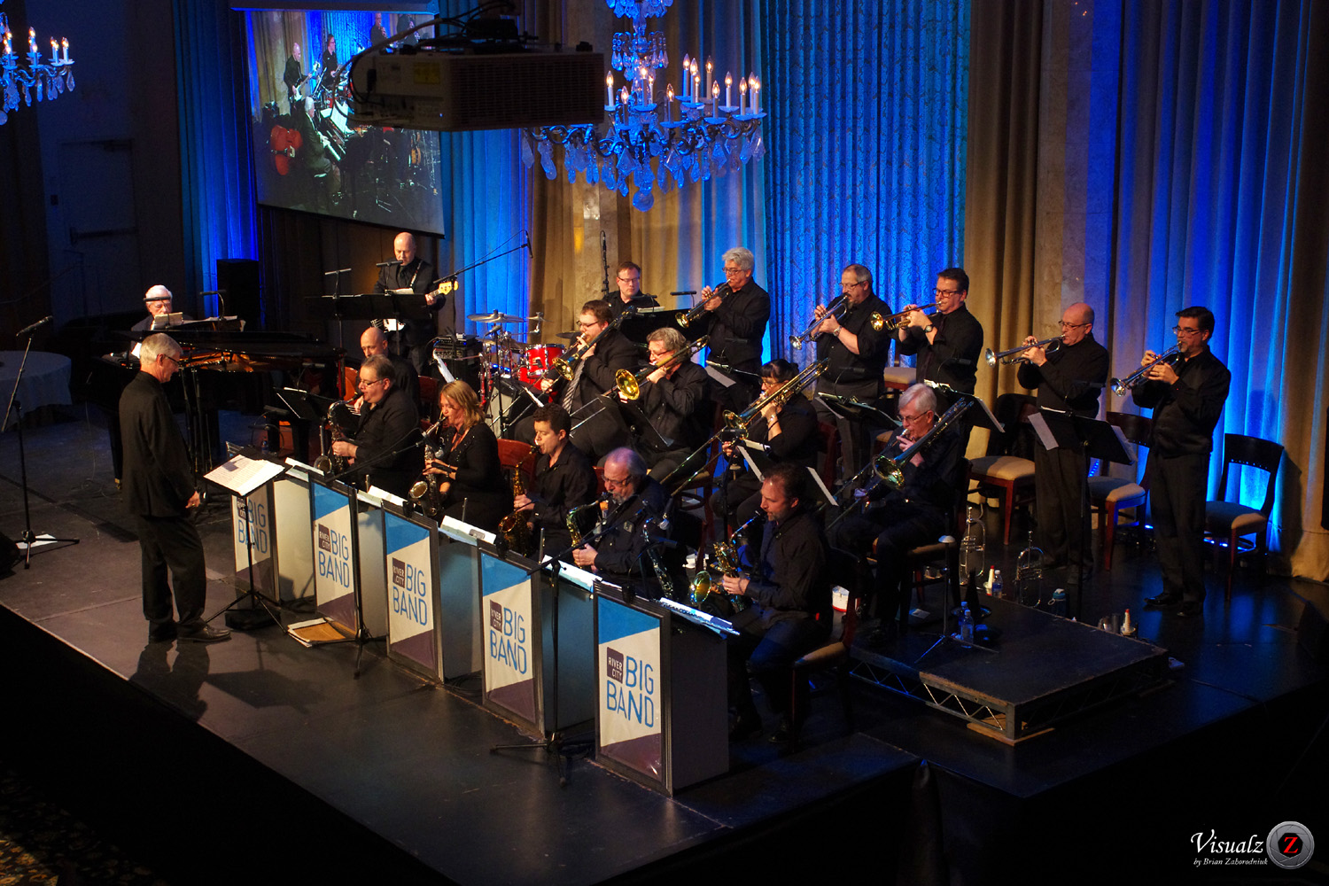 IMGP5731 - River City Big Band with Tommy Banks