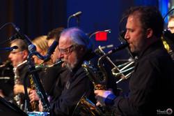 IMGP5919 - River City Big Band - saxes