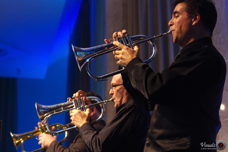 IMGP6903 - River City Big Band - flugel horns