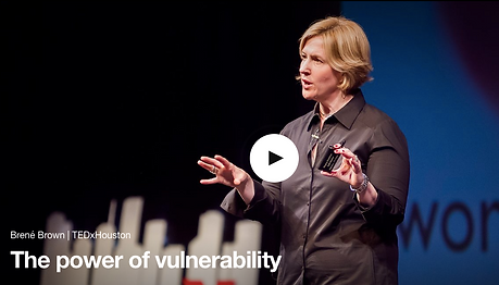 Brene Brown, The power of vulnerability