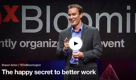 Shawn Achor, The happy secret to better work