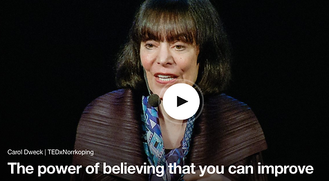 Carol Dweck, Growth Mindset