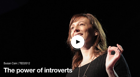 Susan Cain, The power of introverts