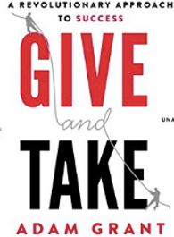 Give and Take, Adam Grant