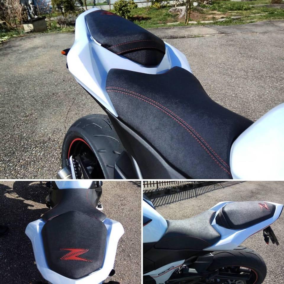 Kawasaki Z800 Sattel