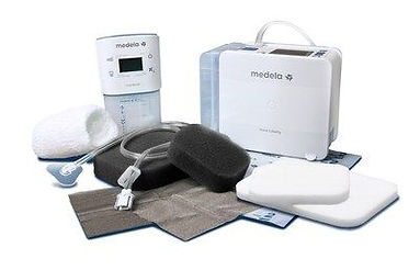 Medela wound pumps with dressings