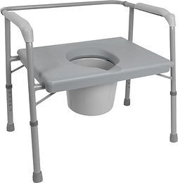 Bariatric Commode with Extra Wide Seat