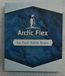 artic flex ice pack ankle brace