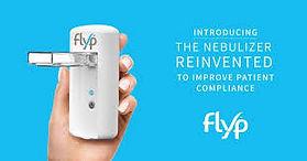 flyp nebulizer in a hand