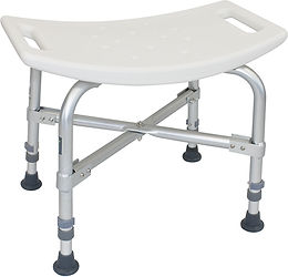Bariatric Shower Bench without Back
