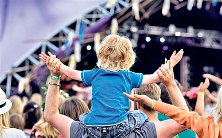 How To Survive This Festival Season With Kids...