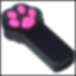 Cat Catch the Interactive LED Light Pointer Paw Style Cat Toy