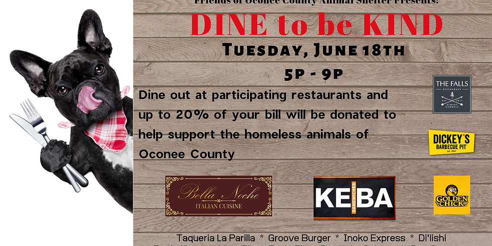 DINE to be KIND