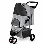 Paws & Pals 3 Wheeler Elite Jogger Pet Stroller